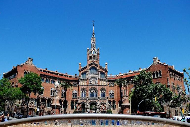 Hospital de la Santa Creu i Sant Pau in Barcelona   © Paul Hermans/WikiCommons