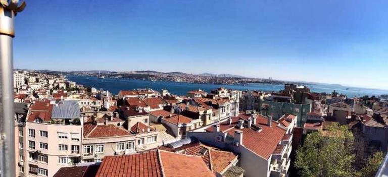 Views of the Bosphorus from 5.Kat