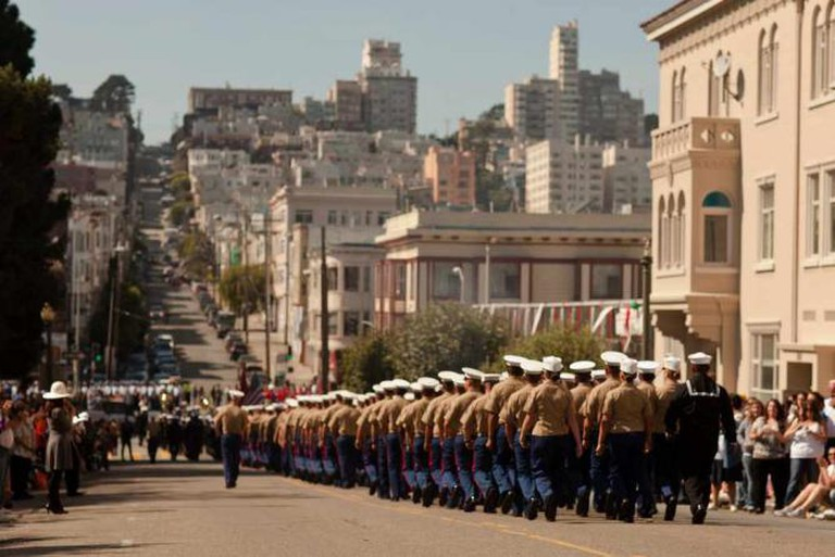 San Francisco Fleet Week 2011 - Parade (c)/ Marines