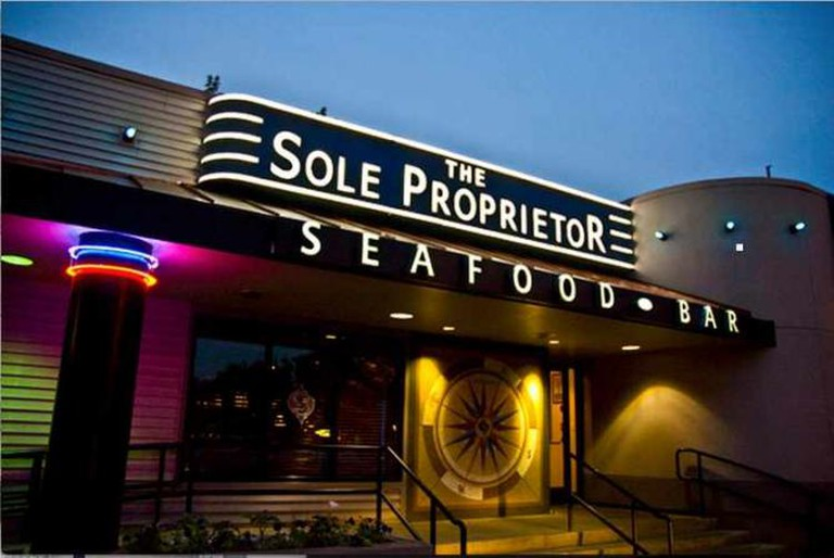 The Exterior of Worcester's famous Sole Proprietor