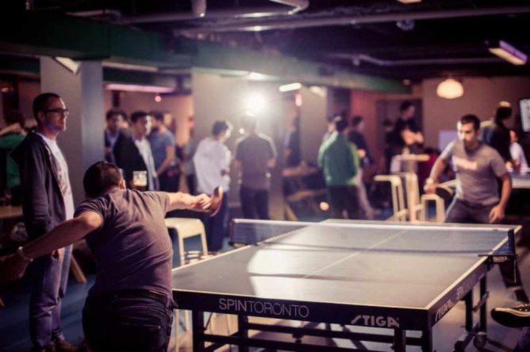 Table Tennis at SPiN Courtesy of SPiN
