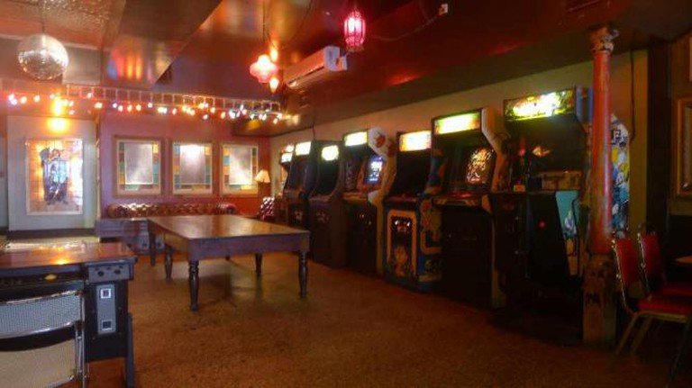 Arcade at Get Well Bar Courtesy of the Get Well