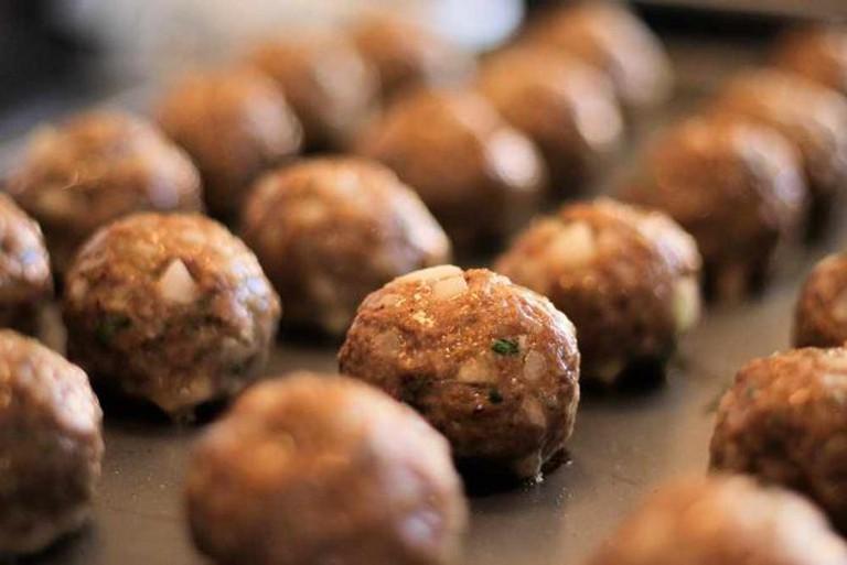 Baked Authentic Italian Meatballs