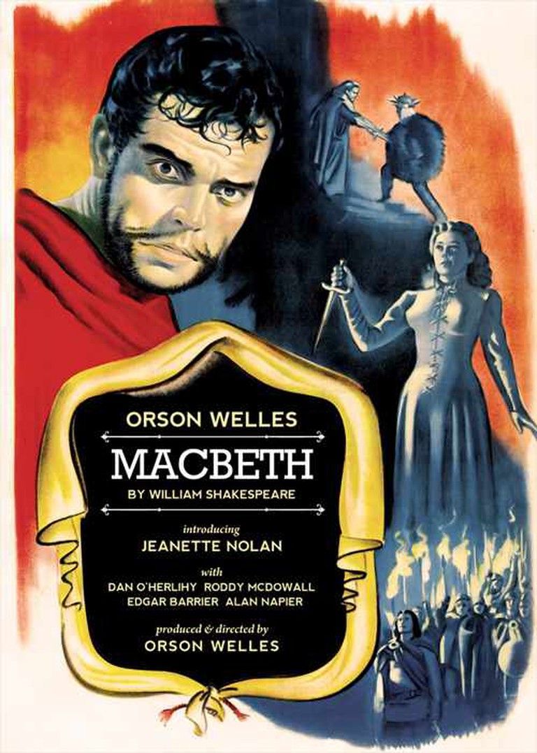 Macbeth 1948 poster © Movie Poster Database
