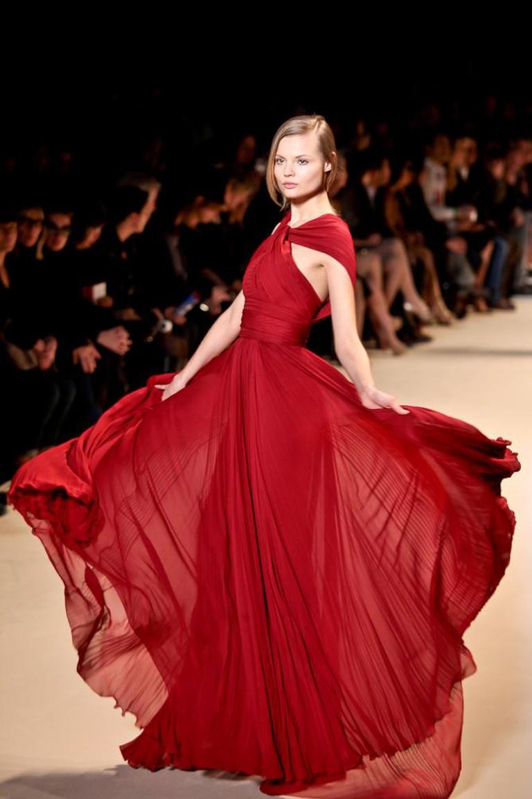 Magdalena Frackowiak, Paris Fashion Week   © Simon Ackerman/WikiCommons