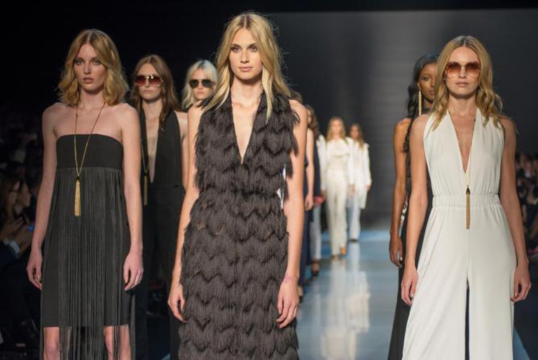 Models at Fashion Week attendees   © Nickon-Pink Tartan/Flickr