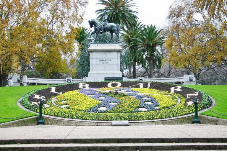Floral Clock, Queen Victoria Gardens, Melbourne