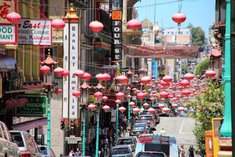 The energy and lanterns of Chinatown | © Gildardo Sanchéz/Flickr