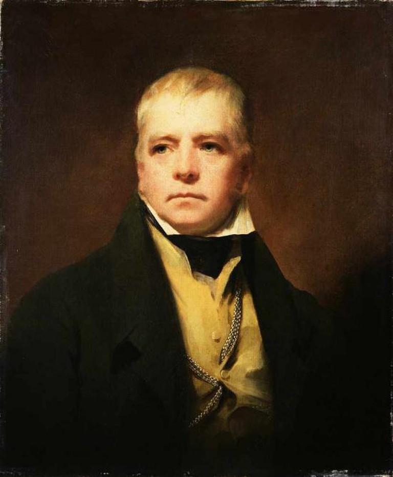Portrait of Sir Walter Scott (1771 - 1832) by Sir Henry Raeburn
