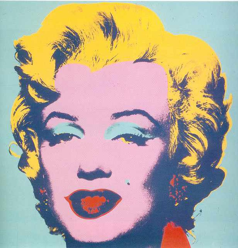 Andy Warhol - Marilyn 1967   © Ian Burt/Flickr