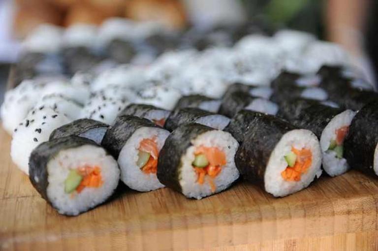 Wikimania Sushi | © WikimediaIsreal/WikiCommons