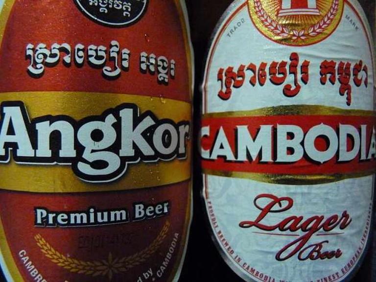 Angkor and Cambodia Beer | © Dudva/WikiCommons
