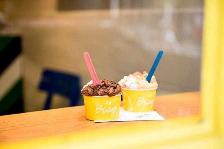 Gelato at A. B. Biagi on Elizabeth St. | © Aleyah Solomon