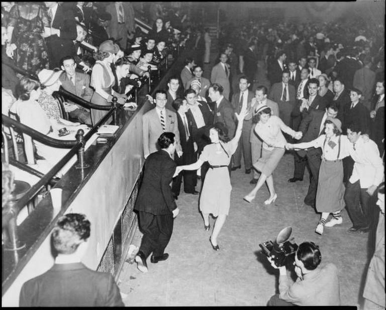 Jitterbug Dancers 1938 | © New York World-Telegram and the Sun Newspaper Photograph Collection/WikiCommons