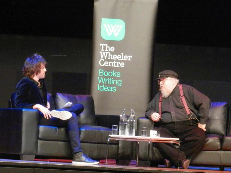 George R.R. Martin at the Wheeler Centre | © Maria Nayef/Flickr