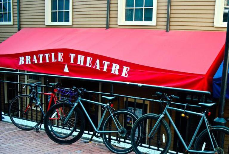 Store Front of the Brattle Theatre | © Alyssa Erspamer