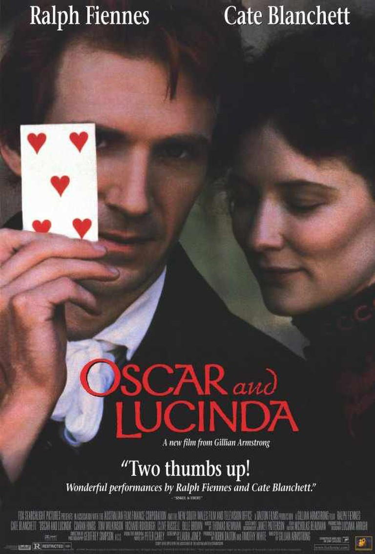 Oscar and Lucinda Theatrical Release poster|© dbmoviesblog