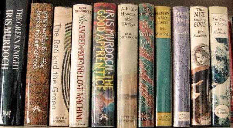 Collection of Iris Murdoch First Editions|© Literary Tourist