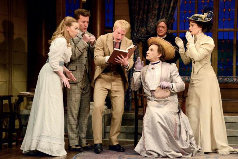The cast of The Importance of Being Earnest ©Nobby Clark