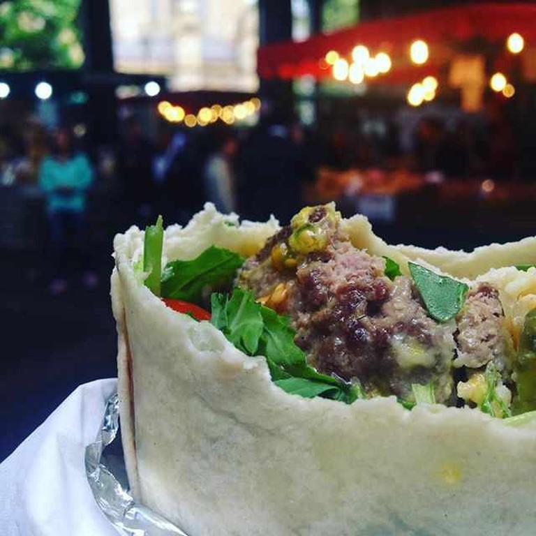 Burgerito from Rare Str'eat | © Hannah Seaton