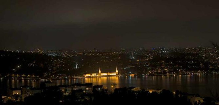 View across the Bosphorus from Ulus 29