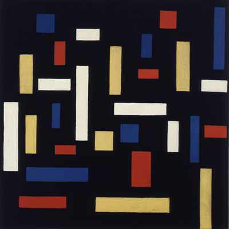 Theo van Doesburg Composition VII (the three graces) | © kemperartmuseum/WikiCommons