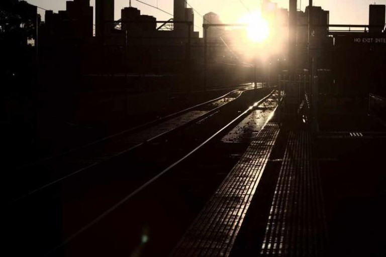 Melbourne from Richmond Train Station