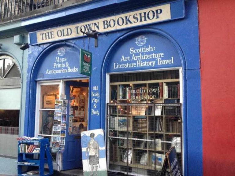 Old Town Bookshop   Alex MacKay