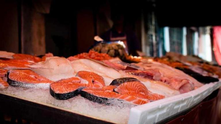 Fresh salmon ©Maëlick/Flickr