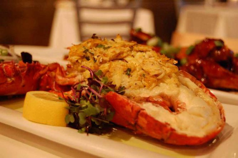 Stuffed lobster ©stu_spivack/Flickr