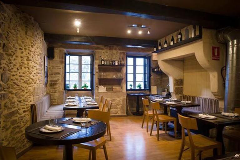 Dining room | Courtesy of O Curro da Parra