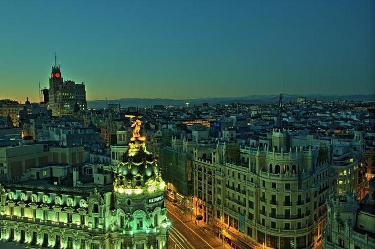 Gran Via, Madrid   © Felipe Gabaldón/Flickr