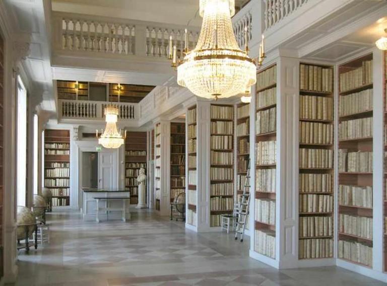 Book Room at Carolina Rediviva Library