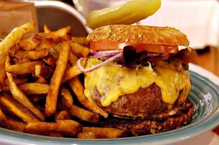 Burger and fries   © stu_spivack/Flickr