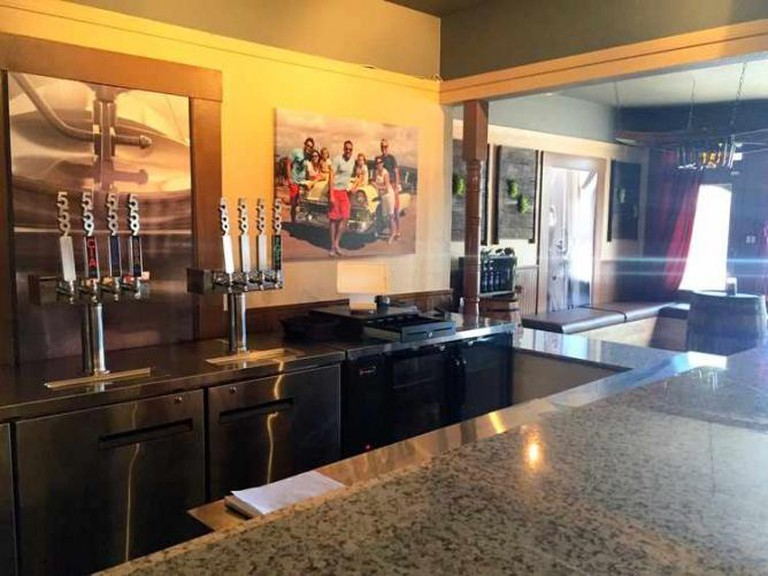The bar at the 559 Local Tasting Room | Courtesy of 559 Local