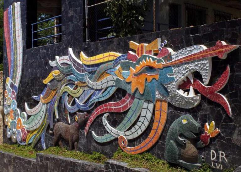Diego Rivera's Mural © Prayitno/Flickr