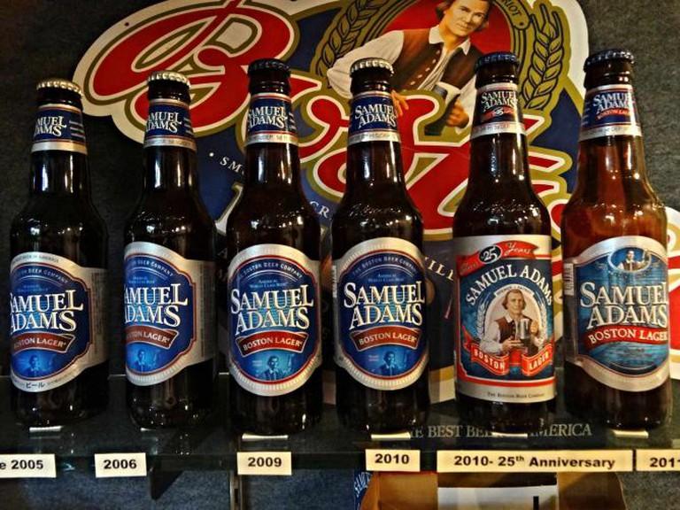 Samuel Adams Brewery, Boston © Francisco Antunes/ flickr