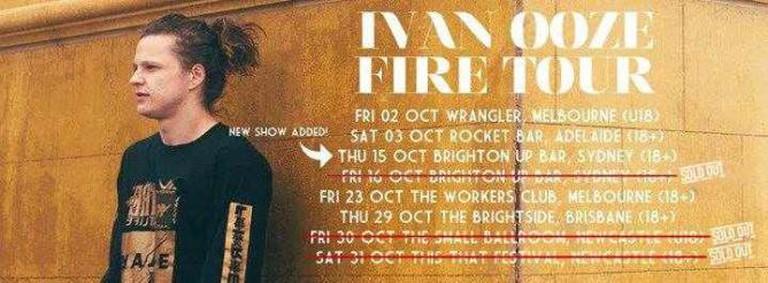 Ivan Ooze Fire Tour|Ivan Ooze/Facebook