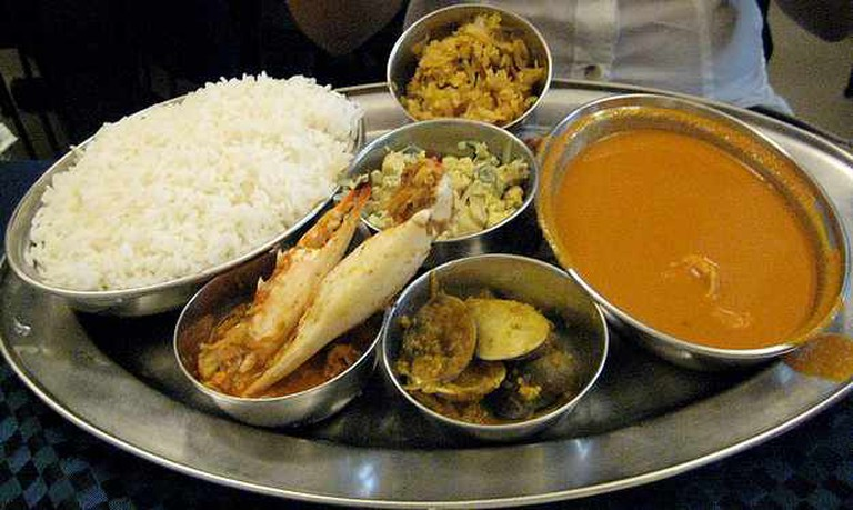 Fish curry rice | © Praveen/Flickr