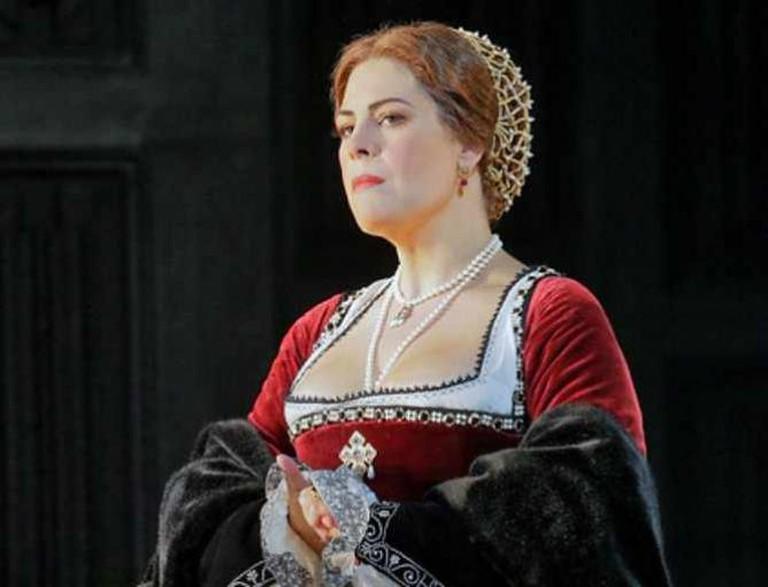 Sondra Radvanovsky in the title role of Donizetti's Anna Bolena | © Ken Howard/Metropolitan Opera