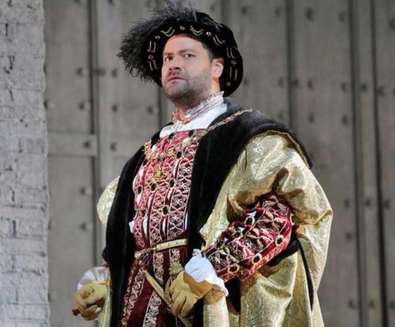 Ildar Abdrazakov as Enrico in Donizetti's Anna Bolena | © Ken Howard/Metropolitan Opera