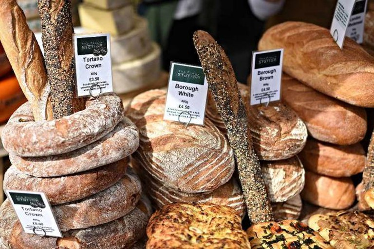 Flour Station at Southbank Centre Market | © The Gaztronome, courtesy of Southbank Centre Market