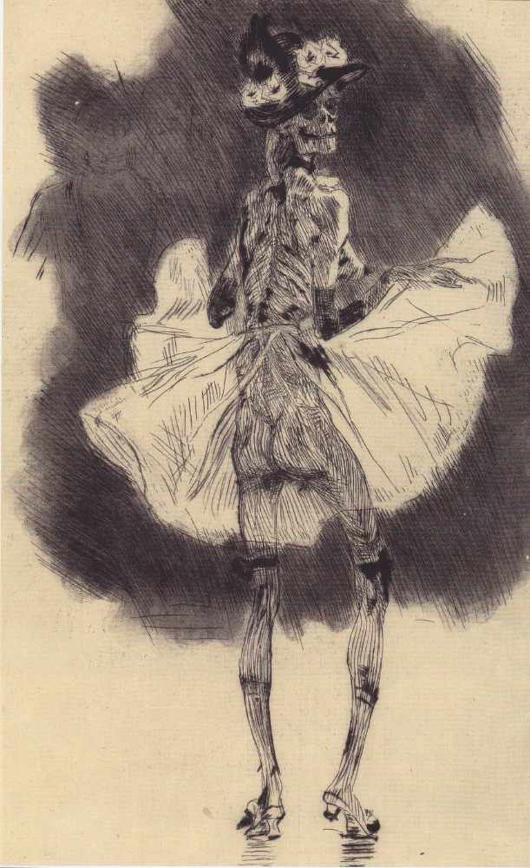 Dancing Death I Repro from art book/WikiCommons
