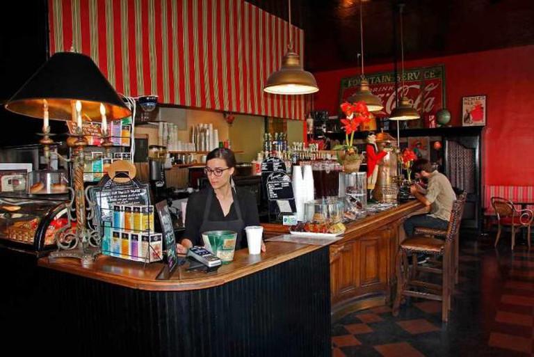 The counter | Courtesy of Mia Cuppa Caffe'