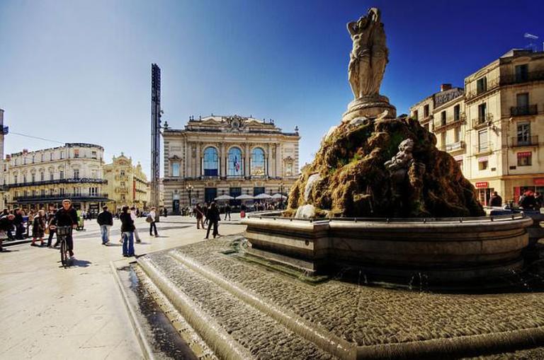 Place de la Comédie | © WolfgangStaudt/WikiCommons