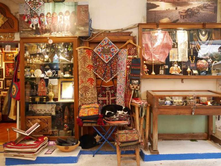 Shop front, Kaş | Photo credit, Sarah Borg