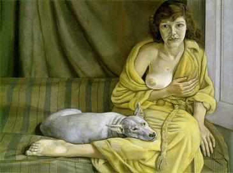 Girl with a White Dog | © Theo's Little Bot/WikiCommons
