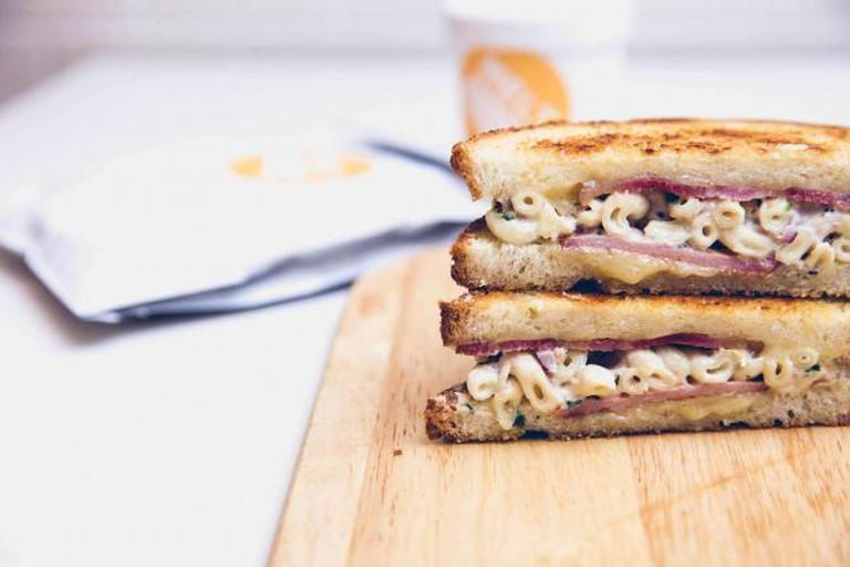 Melt Room mac and cheese toastie | © Melt Room