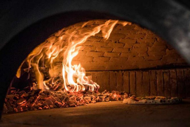 The Annex Kitchen's wood-burning oven | Courtesy of The Annex Kitchen
