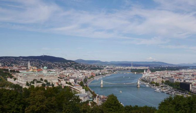 View from Gellért Hill | | © Sara Gonçalves